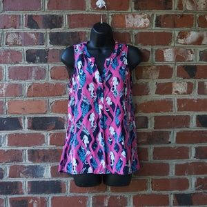 Crown & Ivy Sleeveless Blouse
